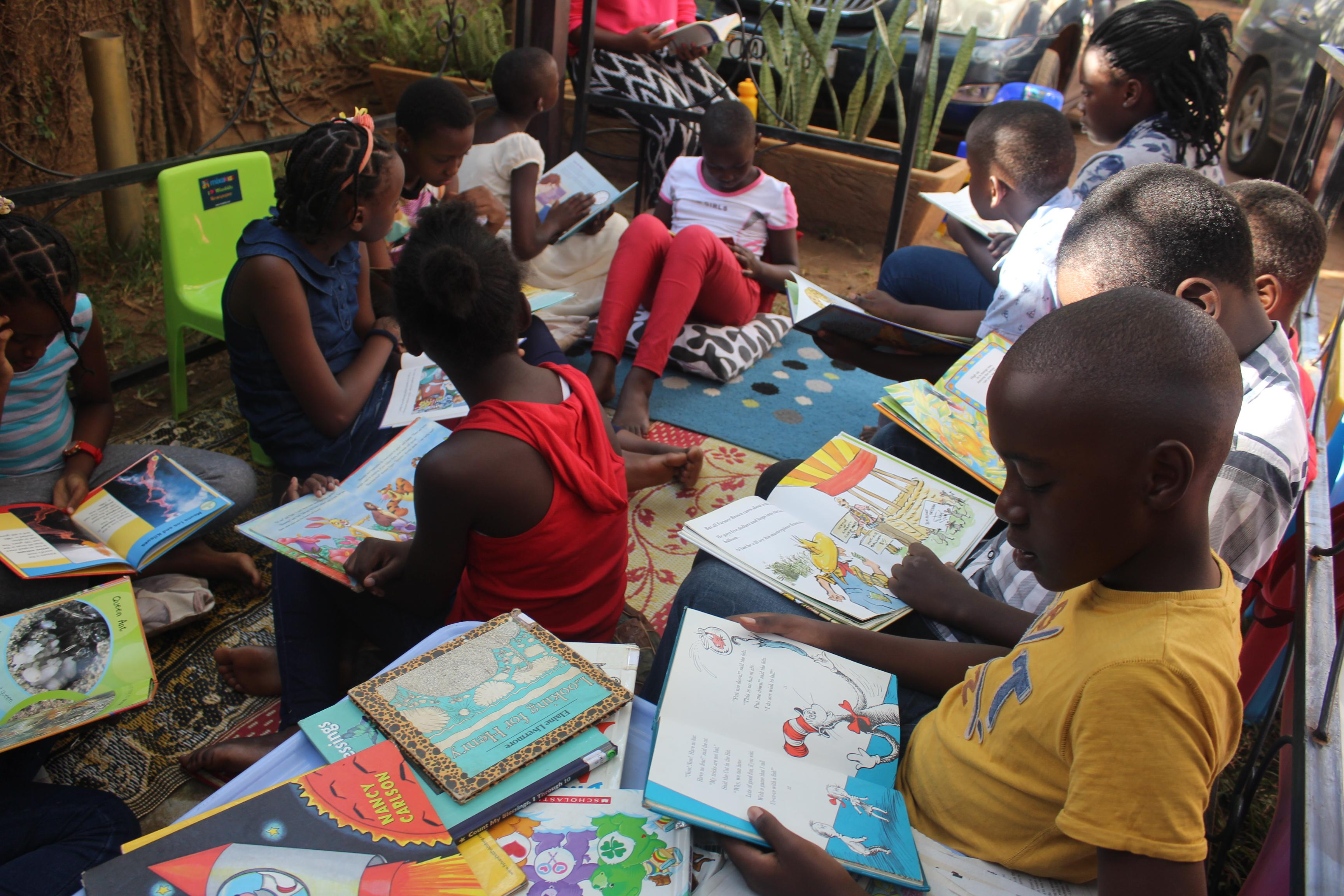 The first Ever MixaKids Reading Zone!