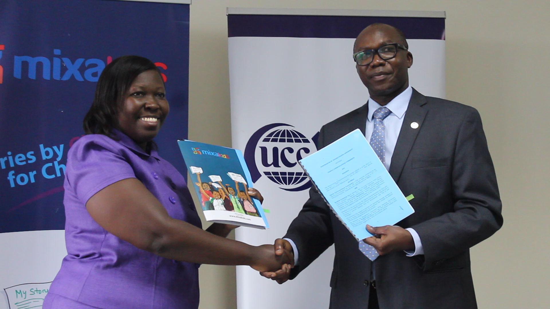 Mixa Publishing Limited Signs a Memorandum of Understanding with Uganda Communications Commission