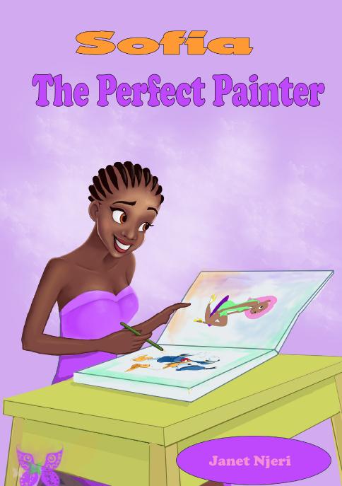 SOFIA THE PERFECT PAINTER