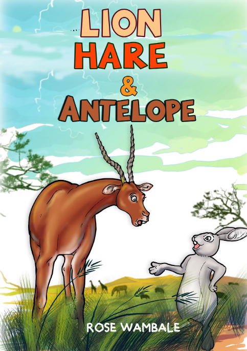 LION, HARE  AND ANTELOPE
