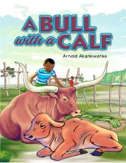 A BULL WITH A CALF